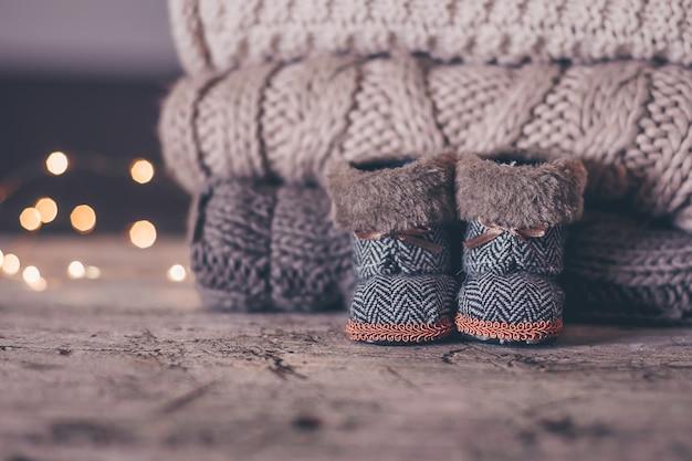 Świąteczne buty dziecięce
