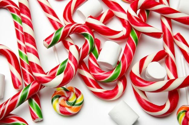 Świąteczne laski cukrowe