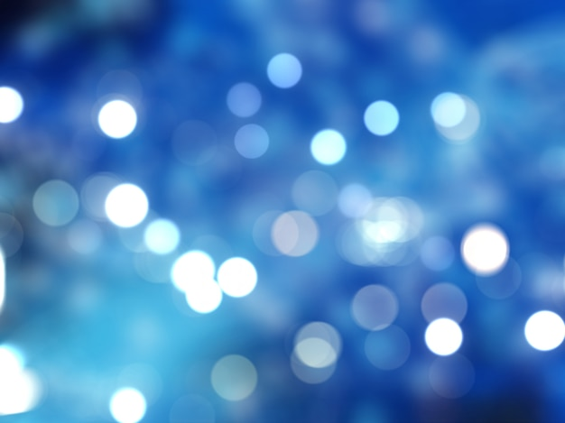 Świąteczne światła bokeh