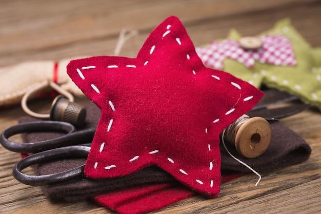 Świąteczne zabawki własnymi rękami narzędzia do kreatywności