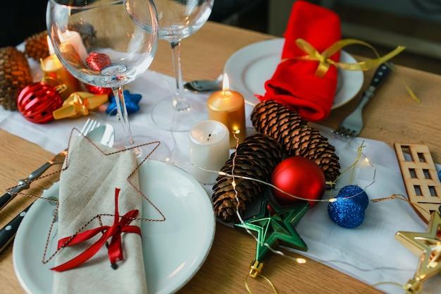 Świąteczny obiad w salonie