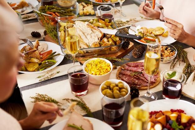 Świąteczny rodzinny obiad