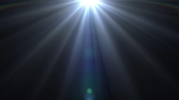 Światła rozbłyskują jasnym światłem tła