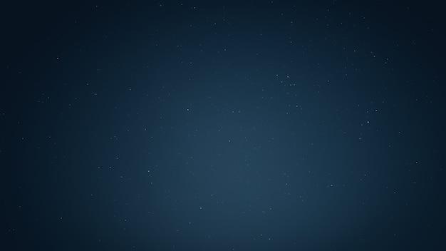 Światło gwiazd na nocnym niebie