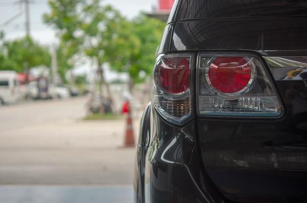 Światło tylne samochodu