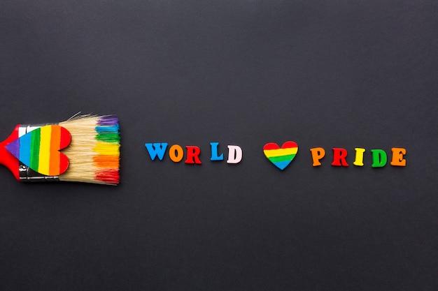 Światowa duma i pędzel