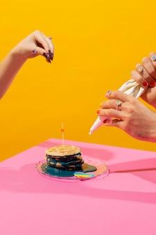 Światowy dzień dumy z jedzeniem martwej natury