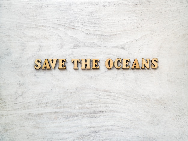 Światowy dzień oceanu. piękne, jasne kartkę z życzeniami