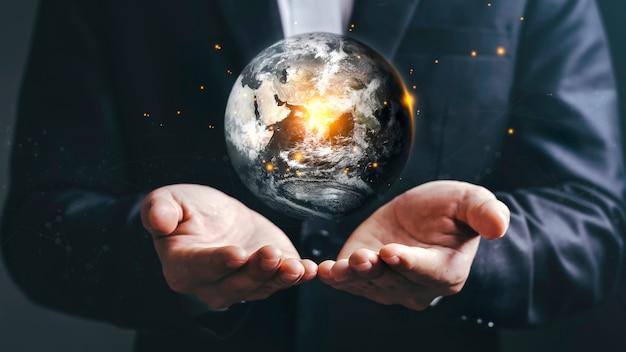 Światowy koncert dnia ziemi elementy tego obrazu dostarczone przez nasa