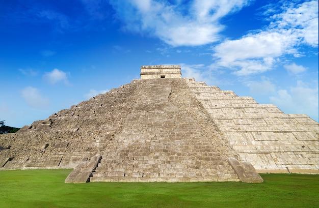 Świątynia chicku itza el templo kukulcan