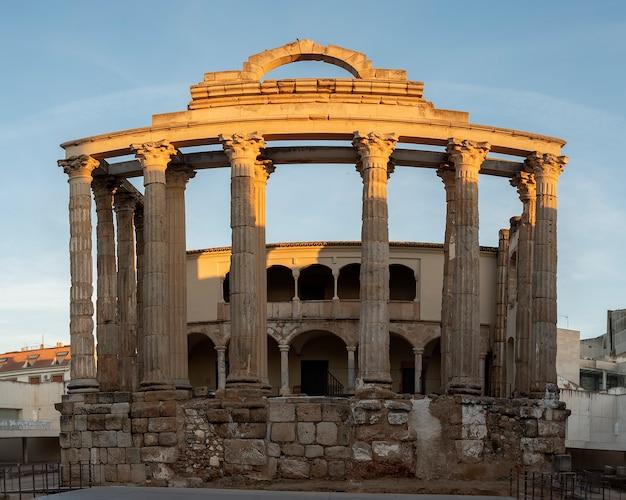 Świątynia diany meridy w hiszpanii