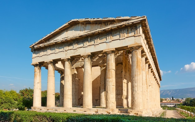 Świątynia hefajstosa w atenach, grecja