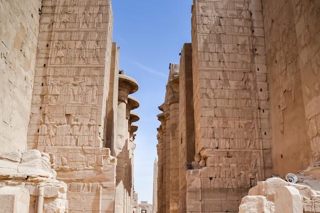 Świątynia karnak. egipt