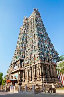 Świątynia menakshi, indie