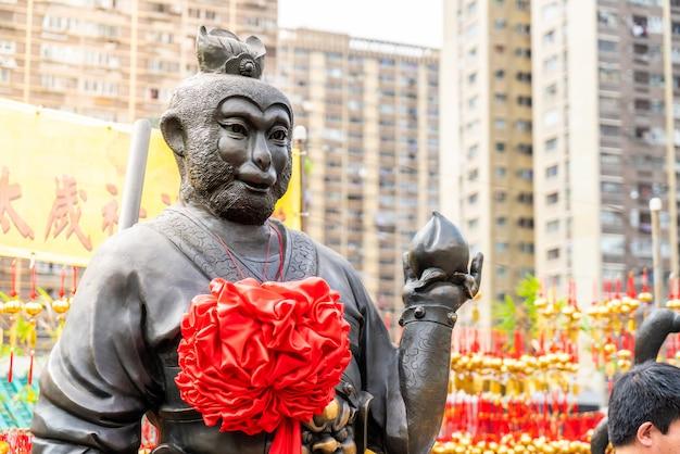 Świątynia sik sik yeun wong tai sin, hongkong