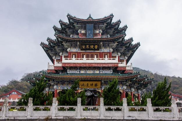 Świątynia tianmenshan