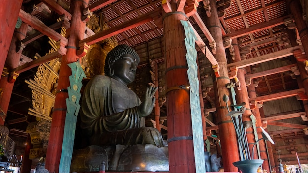 Świątynia todaiji to kompleks świątyń buddyjskich, położony w japońskim mieście nara