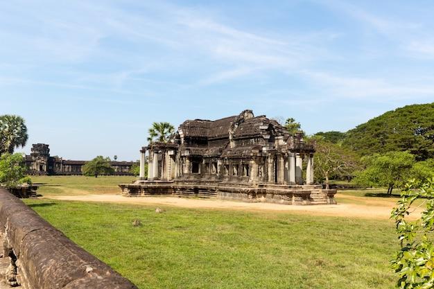 Świątynia w angkor thom w kambodży