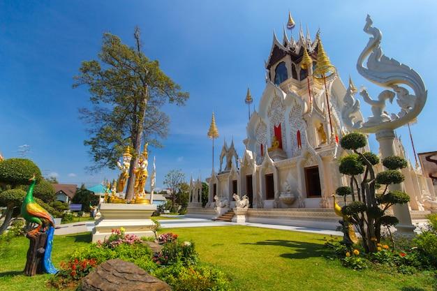 Świątynia wat khoi, prowincja phetchaburi, tajlandia