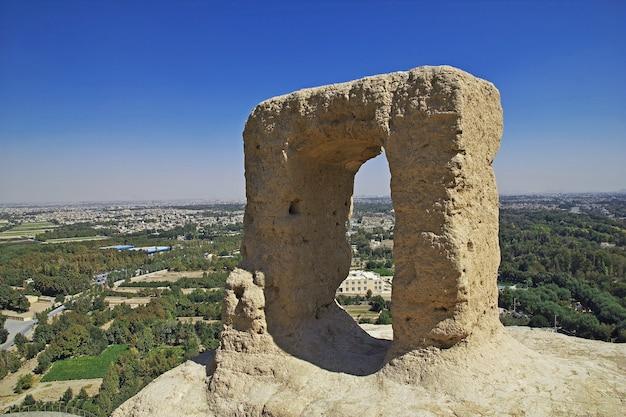 Świątynia zoroastrian w isfahanie w iranie