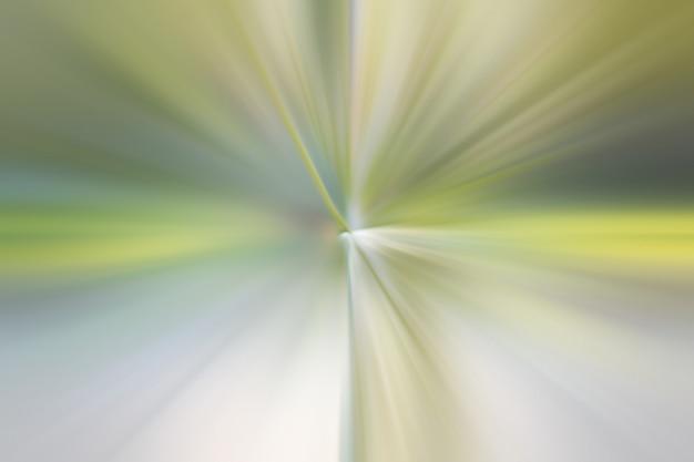 Świecące cząsteczki i linie w kolorze zielonym. piękne promienie streszczenie tło