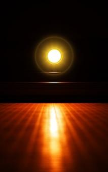 Świecące tło neonowej lampy neonowej