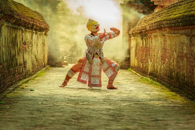 Świece festiwalowe pantomimy (khon)