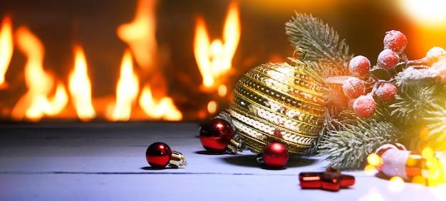 Święta bożego narodzenia i nowego roku w tle