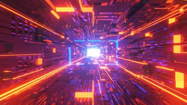 Świetlik w tunelu science-fiction