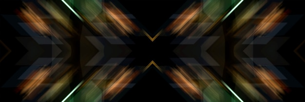 Świetliste linie ukośnego krzyża. streszczenie futurystyczne tło.