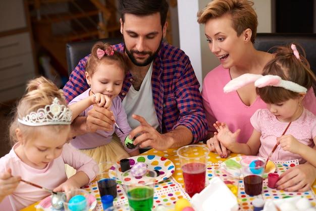 Świetna zabawa z trzema córkami