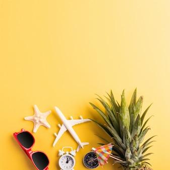 Świętuj koncepcję summer pineapple day