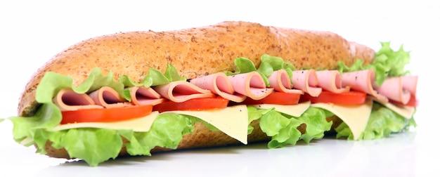 Świeża i smaczna kanapka