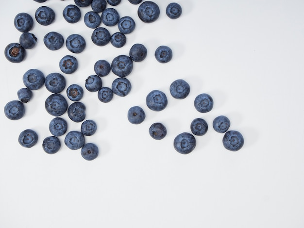 Świeża jagoda, koncepcje zdrowej żywności
