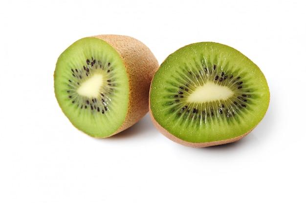 Świeża kiwi owoc odizolowywająca
