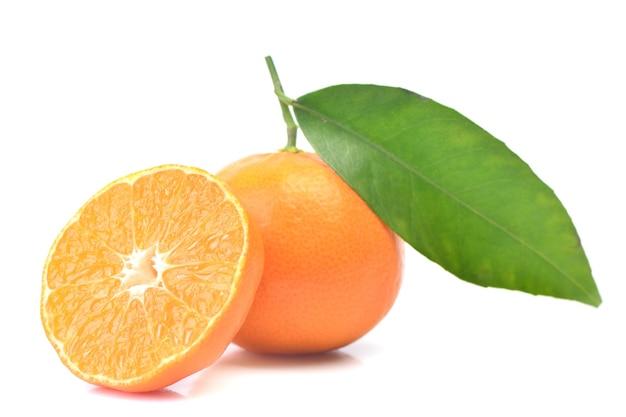Świeża mandarynka