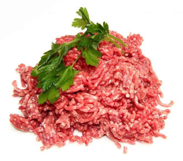 Świeża mielona wołowina