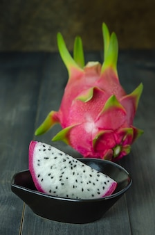 Świeża owoc smoka