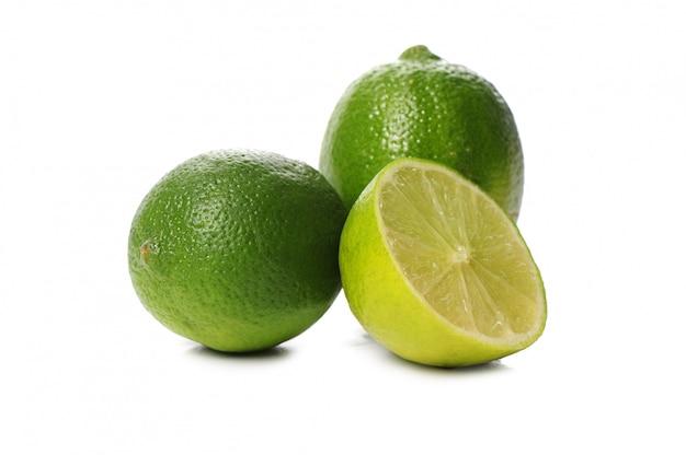 Świeża wapno owoc odizolowywająca