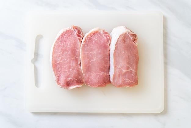 Świeża wieprzowina surowa