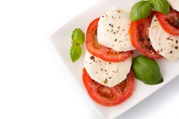 Świeża włoska sałatka caprese