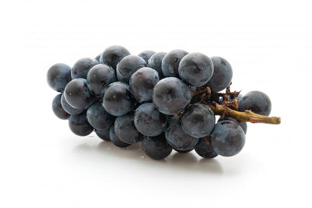Świeże czarne winogrona