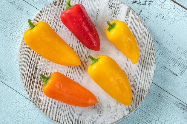 Świeże mini słodka papryka