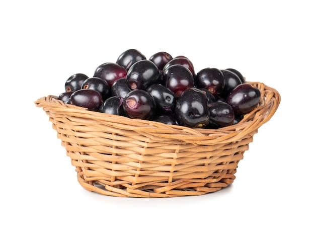 Świeże owoce jamun
