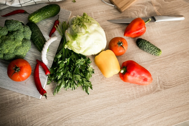 Świeże warzywa