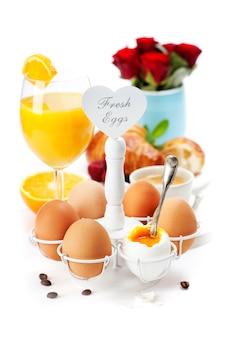 Świeże, zdrowe śniadanie
