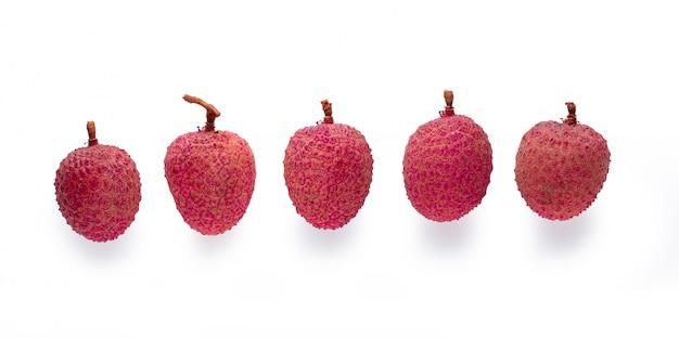 Świezi lychees odizolowywający