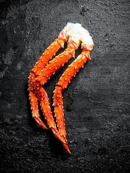Świeżo gotowany krab