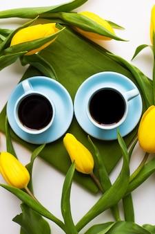 Świeżo parzona kawa