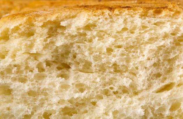 Świeżo upieczony chleb tekstura tło